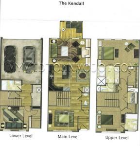 The Park at LaVista Walk Kendall Floor Plan