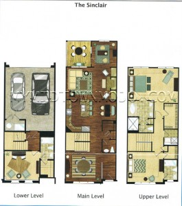 The Park at LaVista Walk Sinclair Floor Plan