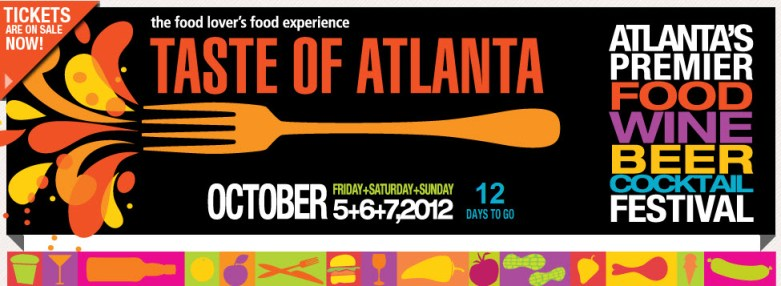 Midtown Atlanta Events | Taste of Atlanta October 5-7, 2012