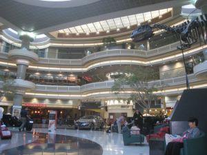 Atrium at Atlanta Airport