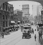 Peachtree Street in 1907