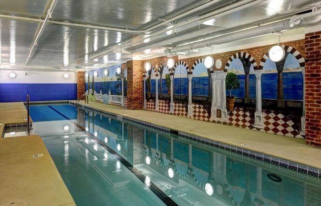 Indoor Pool at The Winston Condominiums