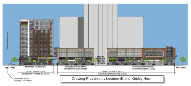 Viewpoint Midtown Retail Upgrades