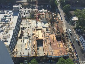 33 PEACHTREE PLACE CONSTRUCTION MAY 21, 2015