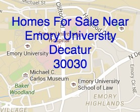 Homes for Sale Near Emory University Decatur May 15, 2015