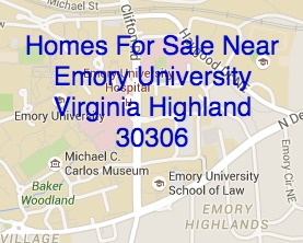 Homes For Sale Near Emory University May 15, 2015