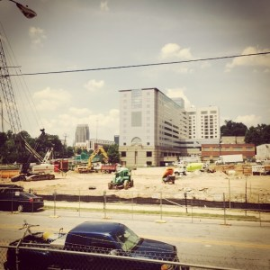 Modera Midtown Construction Site August 13, 2015