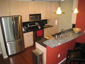 Condo Kitchen backsplash September 5, 2015