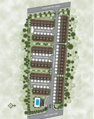 Townsend at Lenox Park Townhomes For Sale