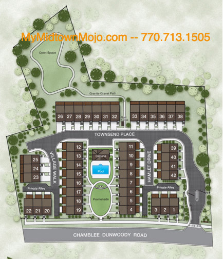 Chamblee Townhomes For Sale Townsend at Chamblee