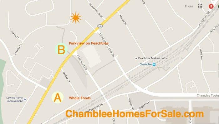 Chamblee Homes For Sale Keswick Village