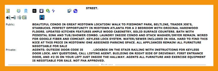 How will the MLS Description look for my home