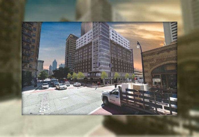 640 Peachtree Street Marriott Courtyard