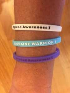 Migraine Awareness Bracelet