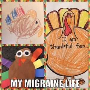 thankful migraine grateful migraine