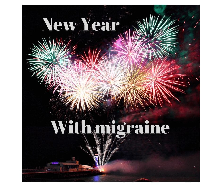 my migraine life continues from 2018 to 2019 with migraine.  It is a battle that continues throughout the year and onto the next.