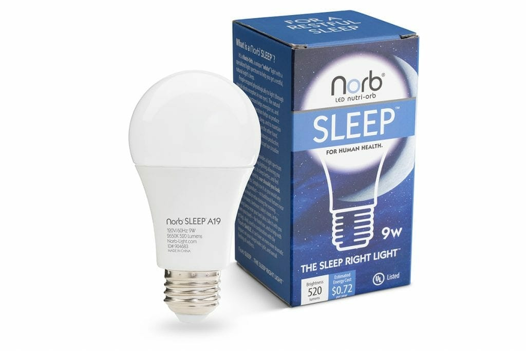 Norb Sleep Giveaway: Wellness Lighting