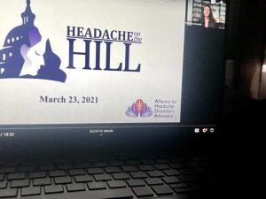 headache on the hill Alliance for Headache Disorders Advocacy