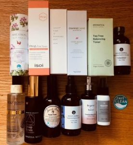 best organic toners and mists