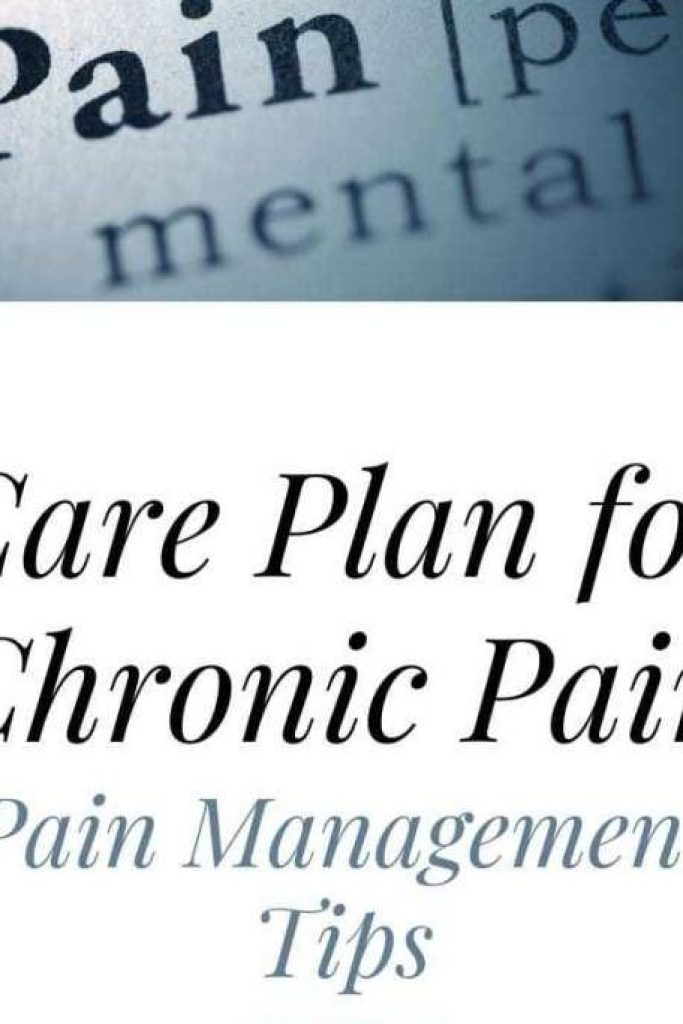 care plan for chronic pain