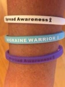 Migraine Awareness Bracelet