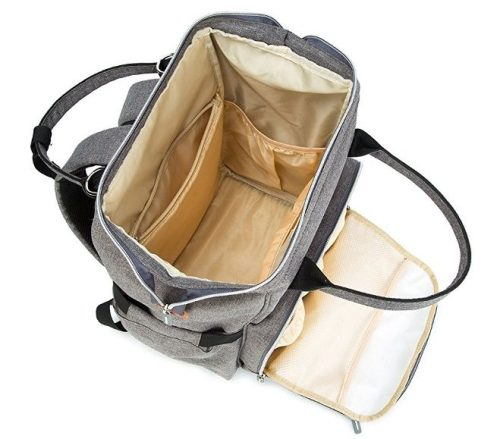 Pantheon Diaper Backpack interior pockets