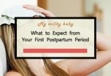 What You Need To Know About Your First Postpartum Period Header