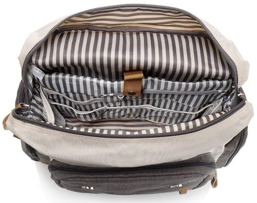 Parker Baby Co Diaper Backpack Inside