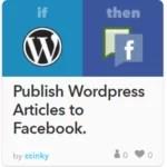 Publish WordPress recipe