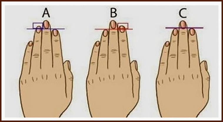 Αποτέλεσμα εικόνας για Τι σχέση που μπορεί να έχει το μήκος των δακτύλων μας, με την προσωπικότητά μας;