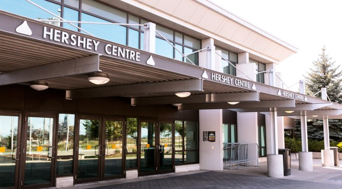 The Hershey Centre to be renamed The Paramount Centre July 1st
