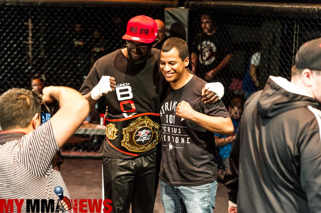 Dami Powerson crowned Aggressive Combat Championships light heavyweight champion
