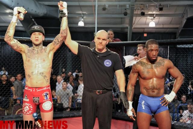 Travis Creamer defeated Sharif Jones at WCC 16 at the Lancaster Host Resort, March 5, 2016.