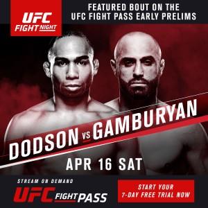 Dodson vs Gamburyan