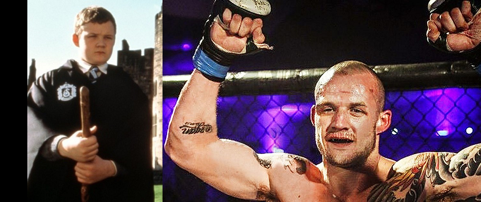 Harry Potter actor Josh Herdman makes MMA debut