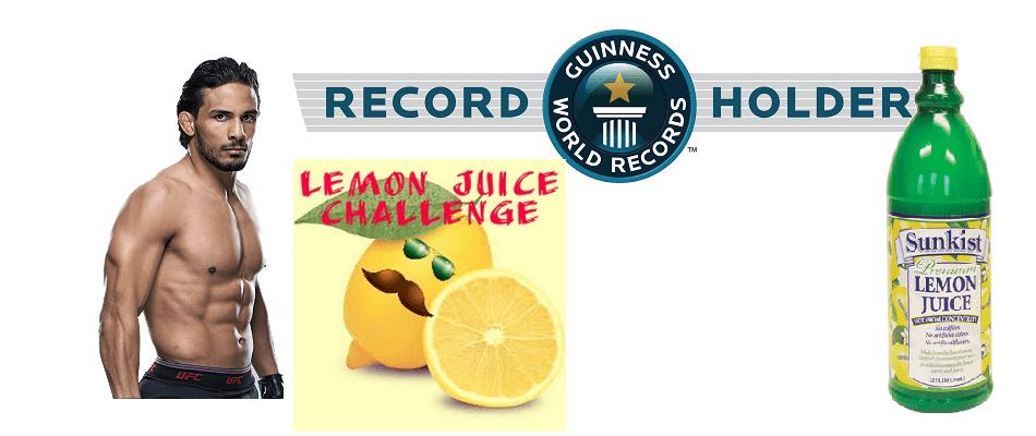 Dennis Bermudez sets world record