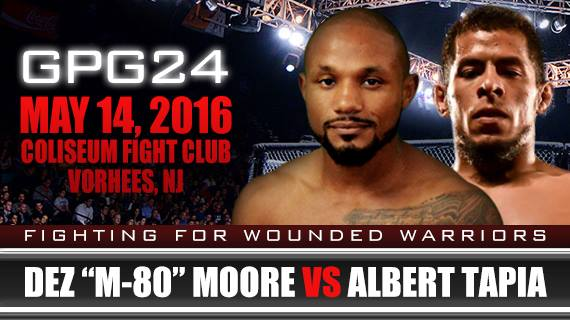 Desmond Moore vs Albert Tapia at Global Proving Ground 24