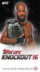 UFC Topps Knockout 16