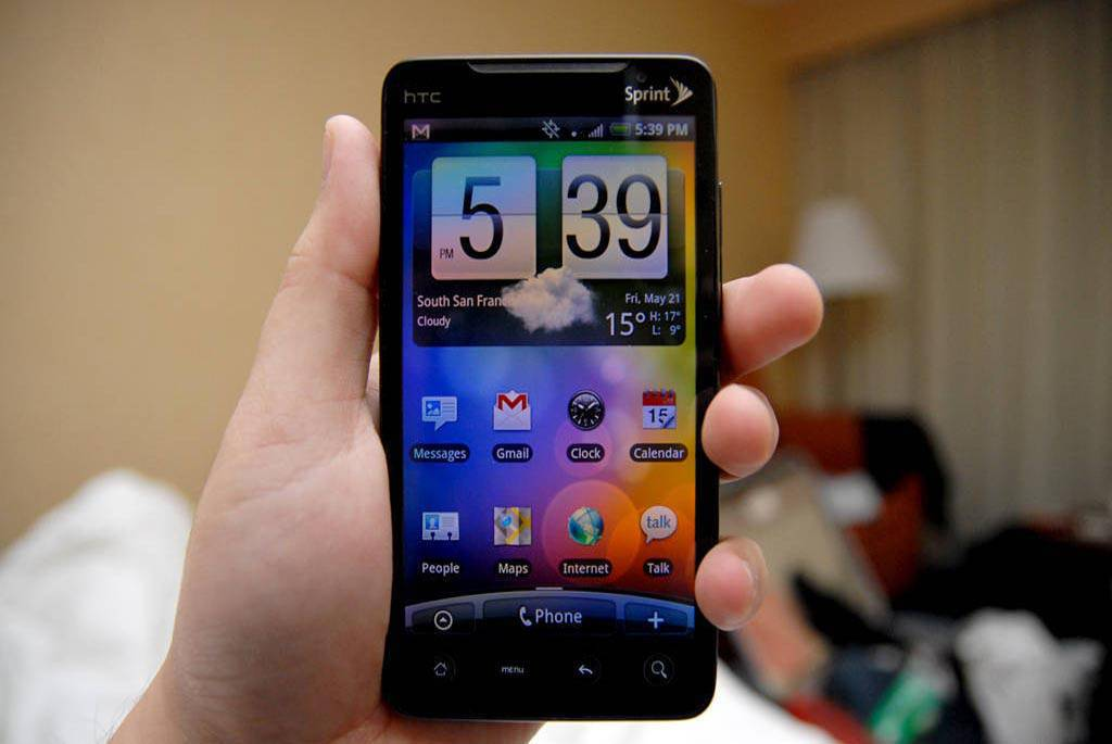 HTC Evo 4G Applications Free Download