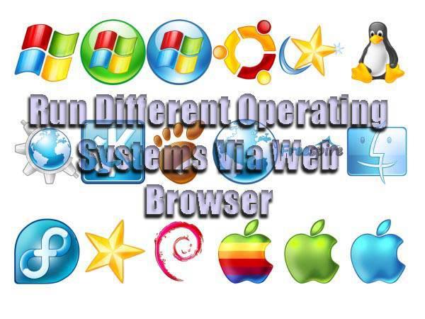Run Operating System via web browser