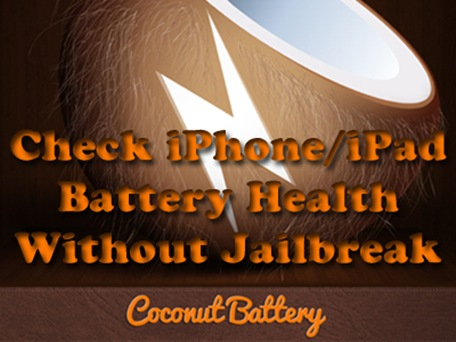 check iPhone battery health copy
