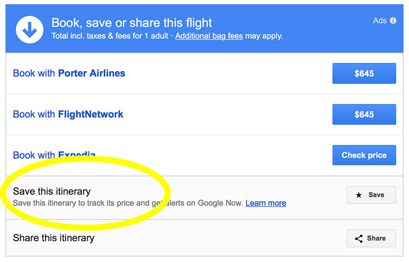Google Flights Screenshot1