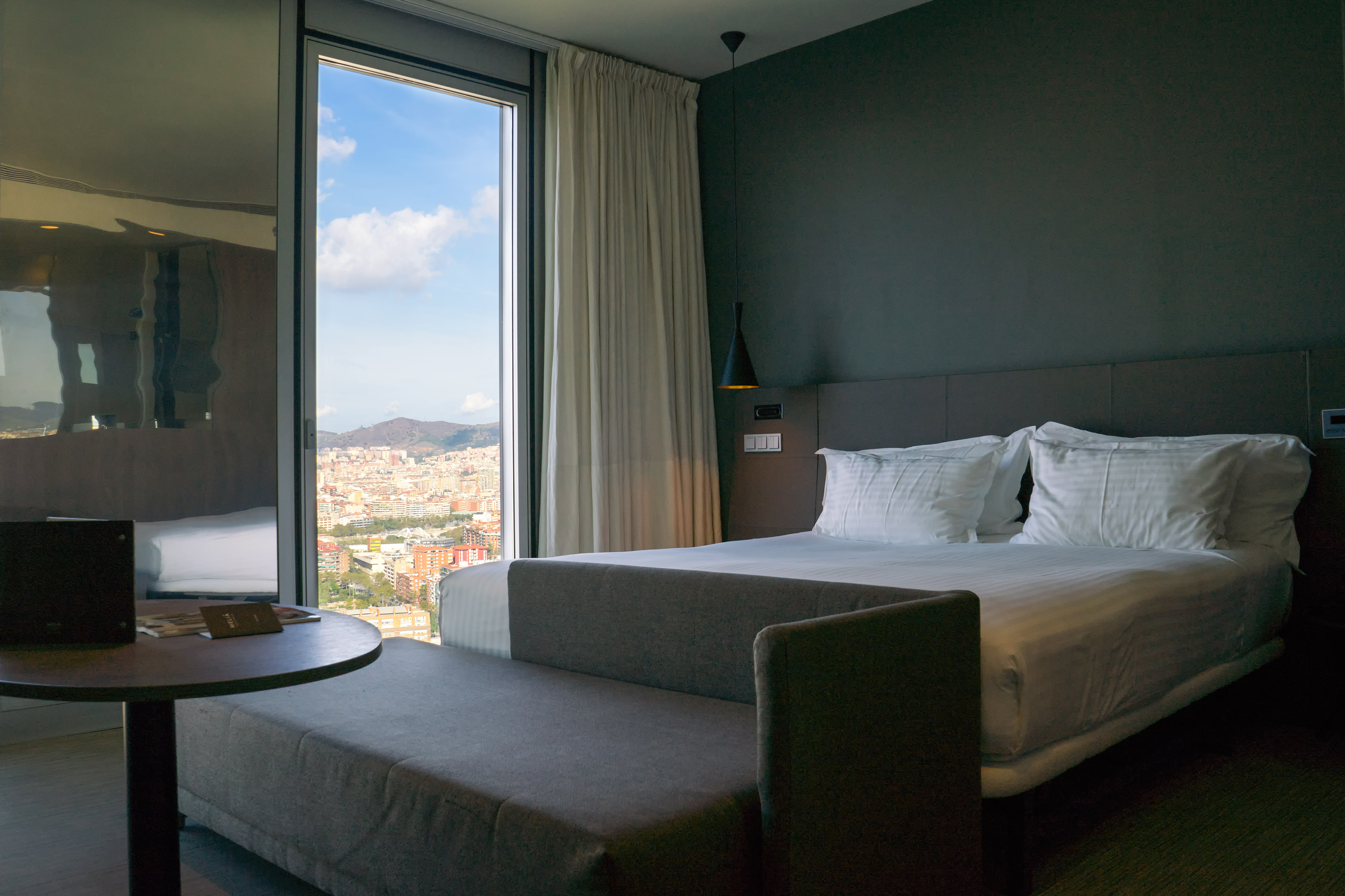 Level Melia Barcelona Sky bedroom