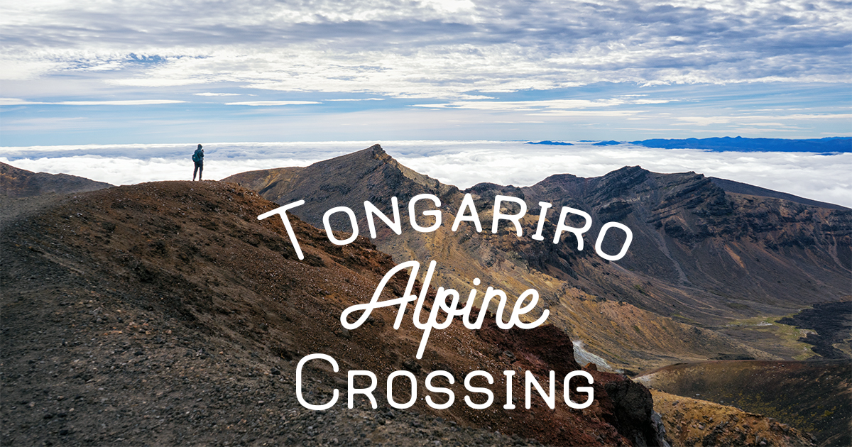 Tongariro Alpine Crossing Card
