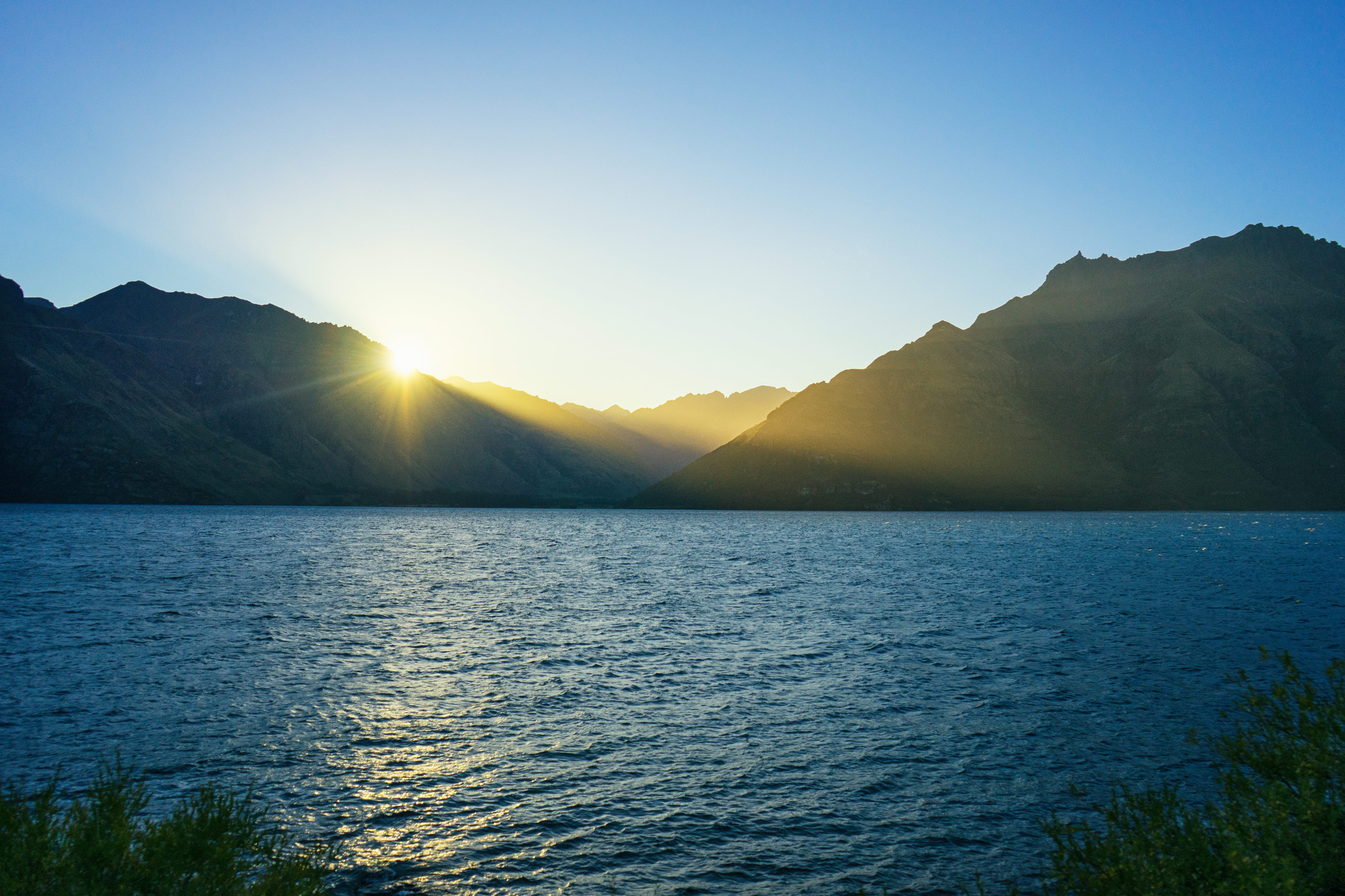 Queenstown Lake Wakatipu Sunset