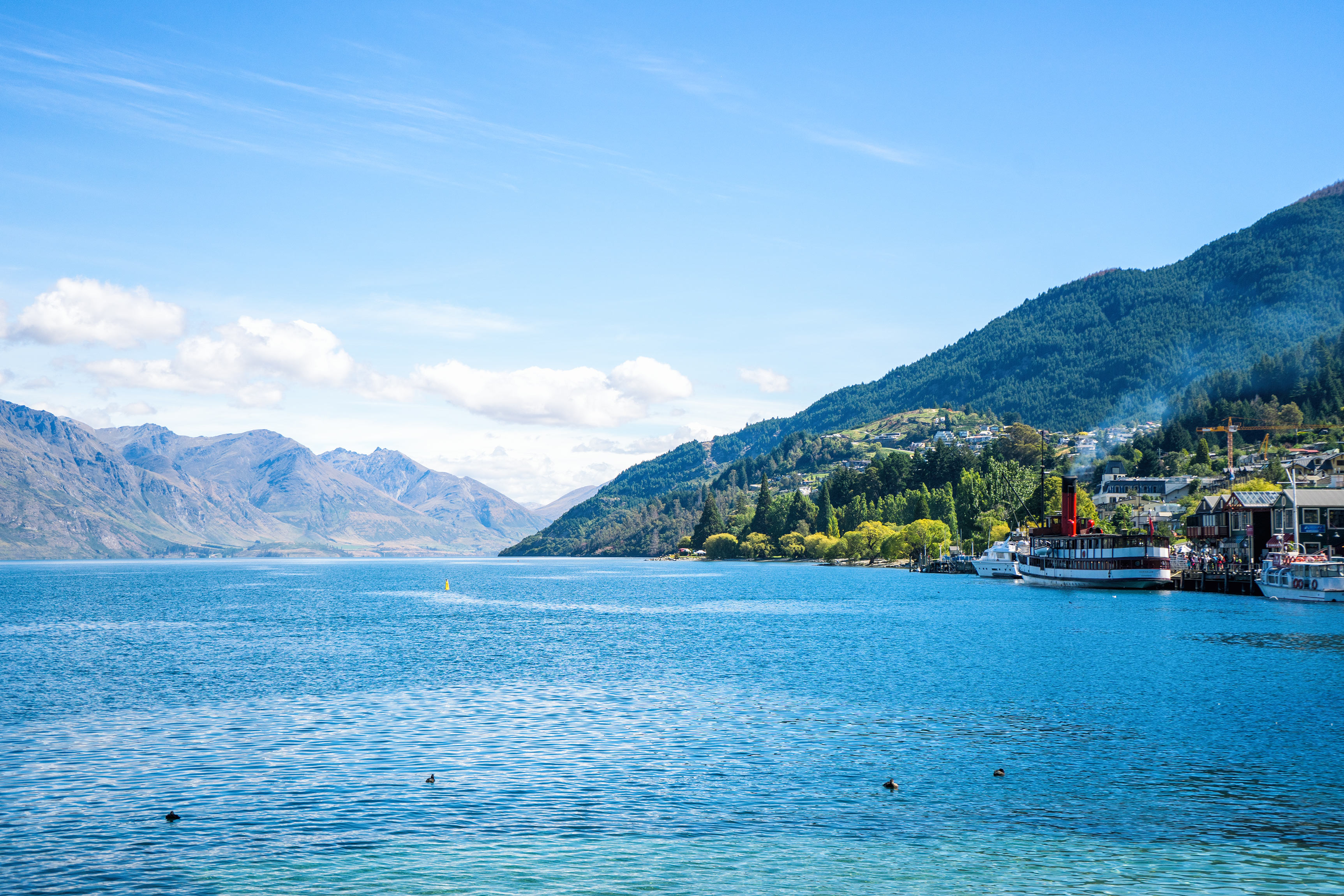 Queenstown Lake Wakatipu View