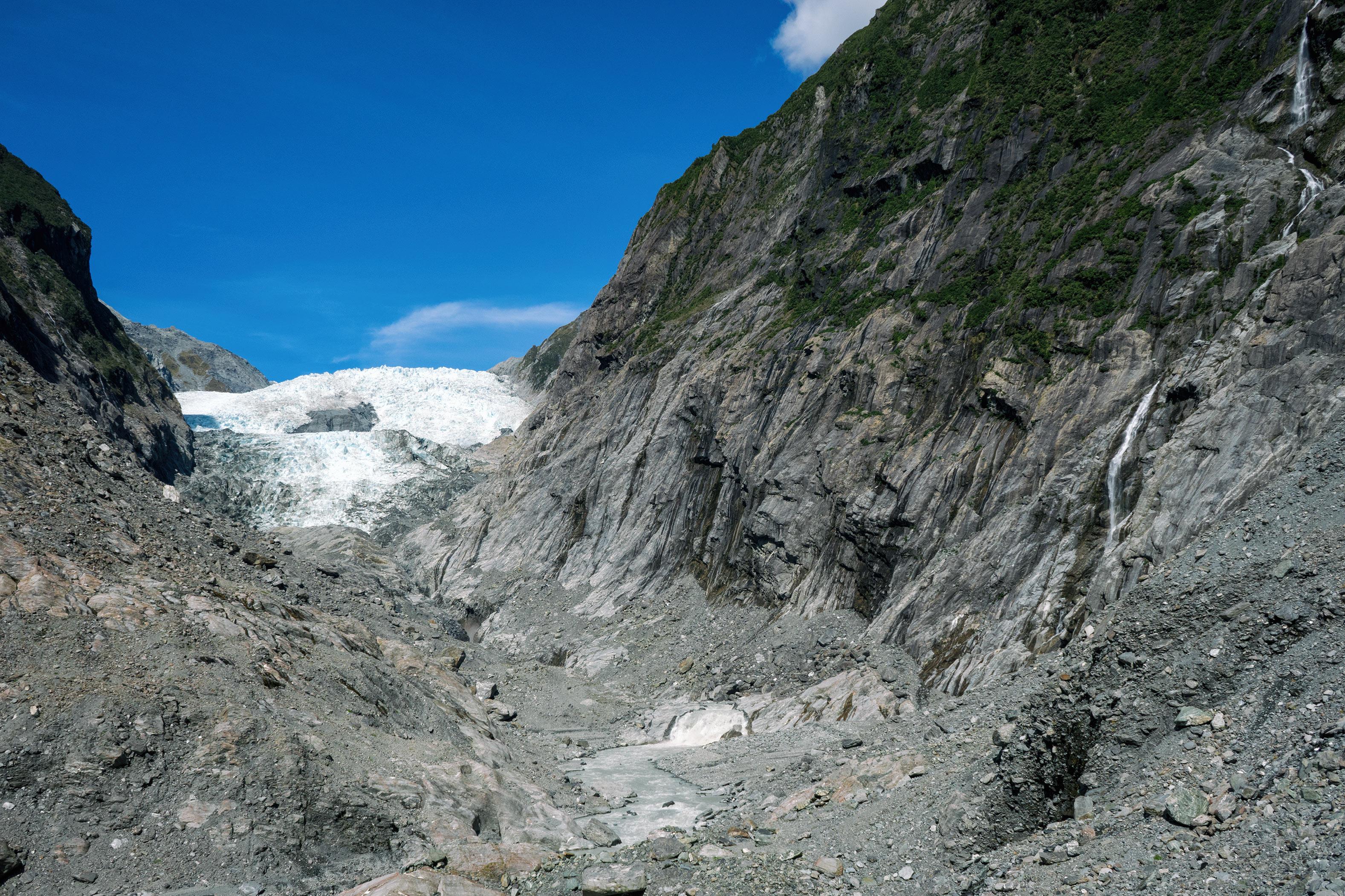 Franz Josef Glacier Valley Walk Terminal Face Of The Glacier