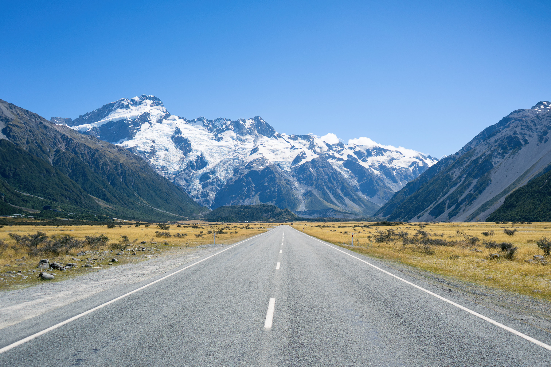 Aoraki Mt Cook National Park Road To Hooker Valley