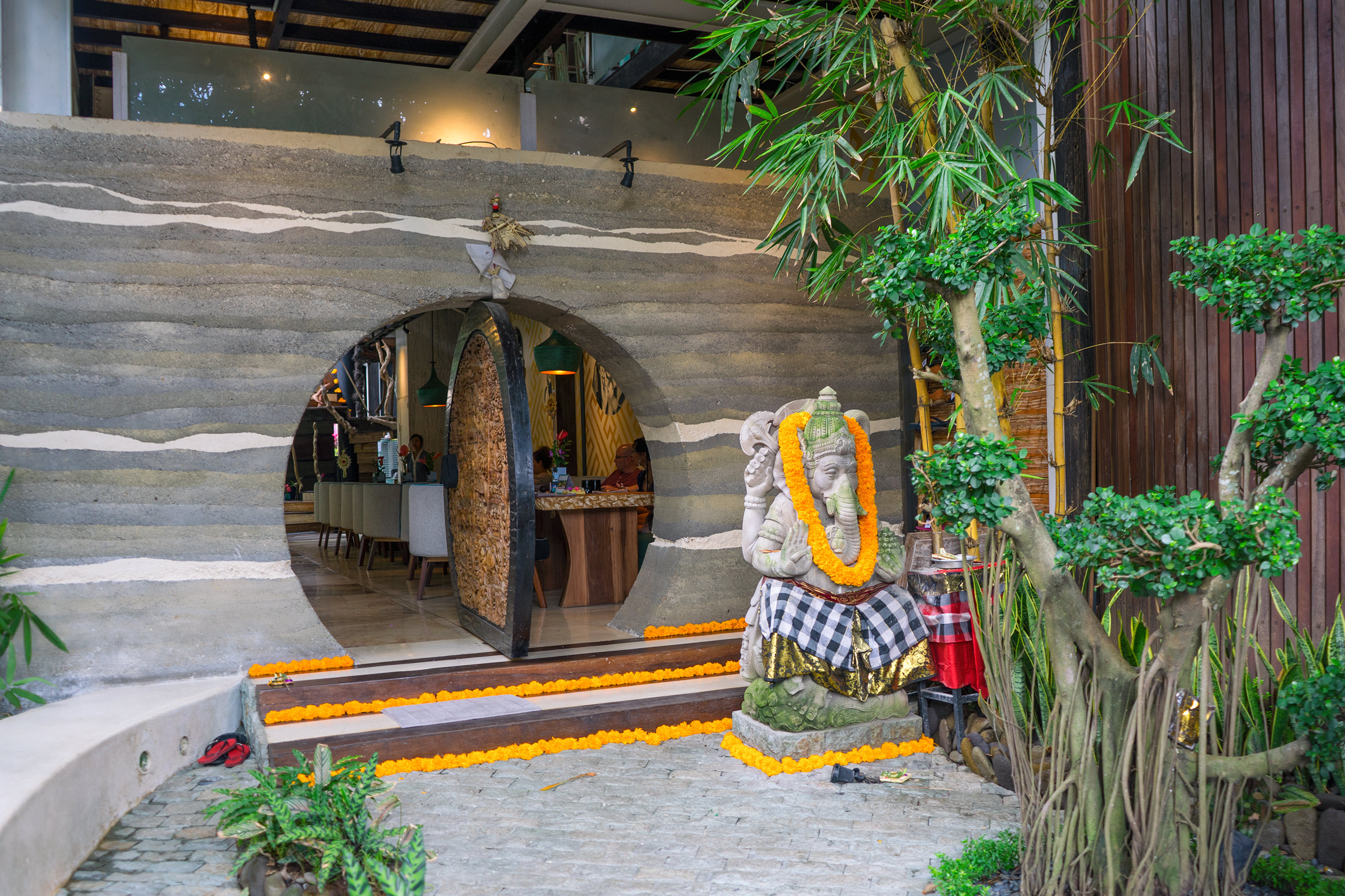 Bali Ubud Clear Cafe Entrance