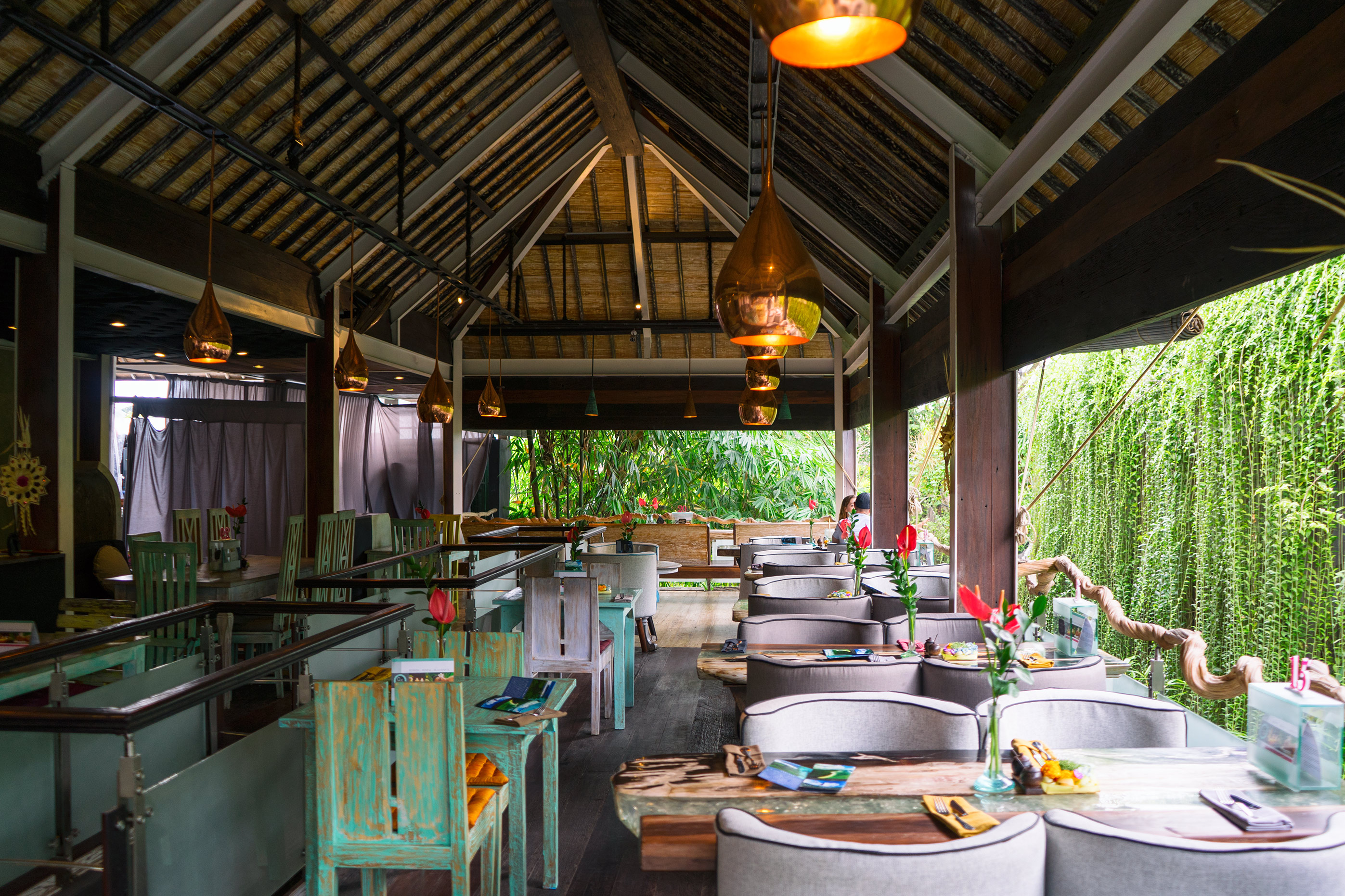 Bali Ubud Clear Cafe Second Floor Interiors